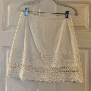Ivory skirt